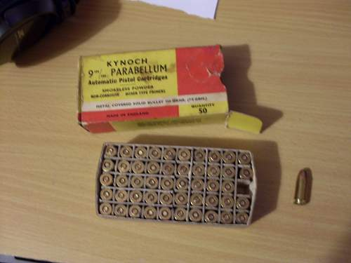 German Magazine + pistol rounds