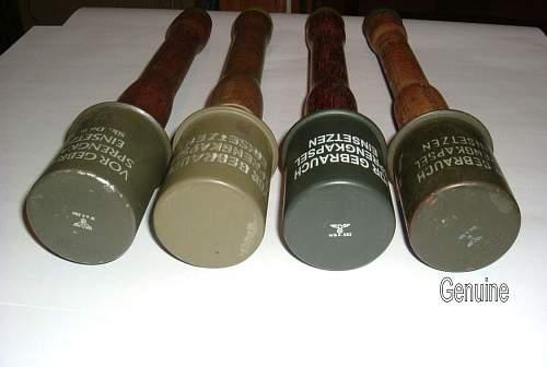 Real or Fake Stielhandgranate M24 ????