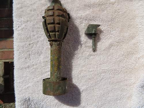 1944 dated M1 rifle grenade
