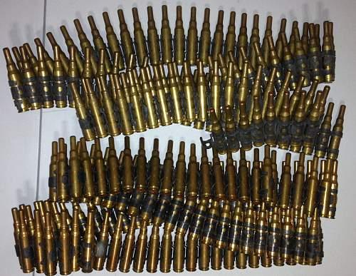 30 cal ammo belts