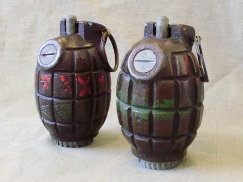 I found A grenade -----) No36 m Mk1
