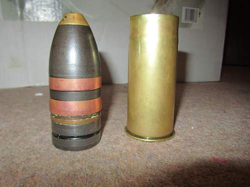 need help pricing a WW1 German 37 mm shell