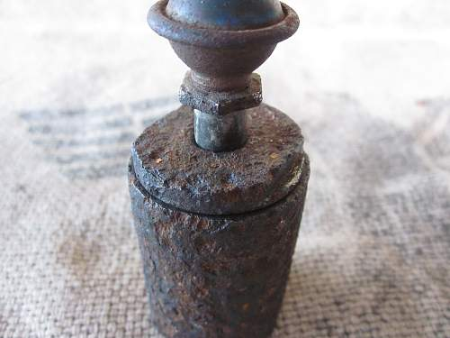German 1945 Improvised grenade