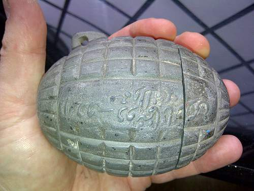 Unknown Grenade ,any ideas !!!