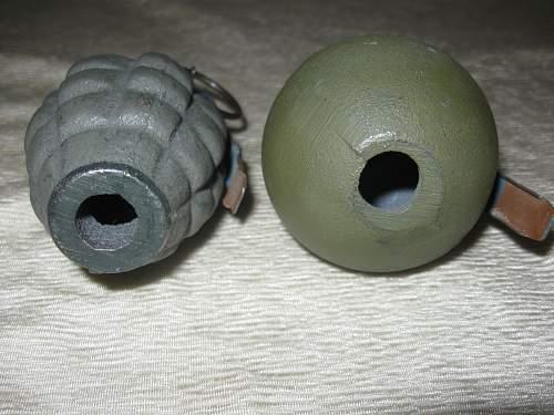 Training pineapple grenade?