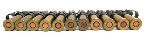 Linked .303 British Ammo