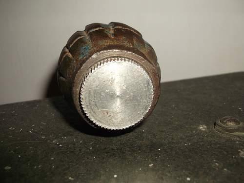 No 36 Practice Grenade Car Boot Find