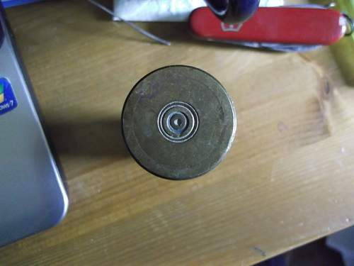 German 20mm Shell Case?