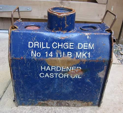 Hayrick demolition charge drill