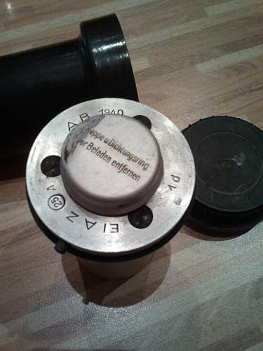 ww2 german bomb fuze