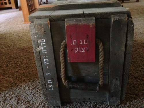 Help with an ammo crate?