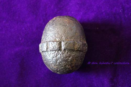 WWI Relic Egg