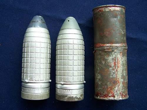 Dyakonov fragmentation rifle grenade