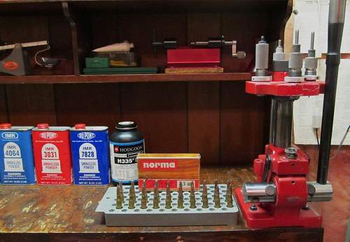 Military Rifle Reloading