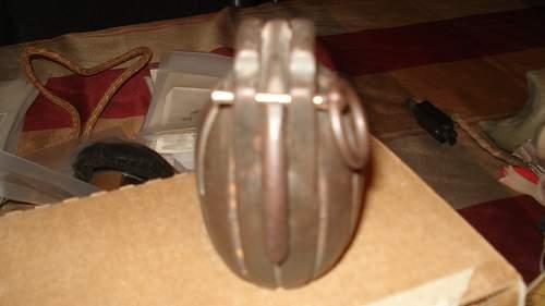 Near mint WW1 Mills Practice Grenade