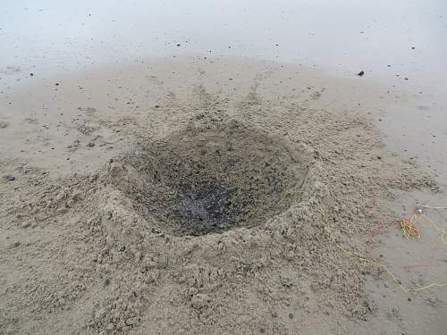 The end of a 5cm mortar bomb
