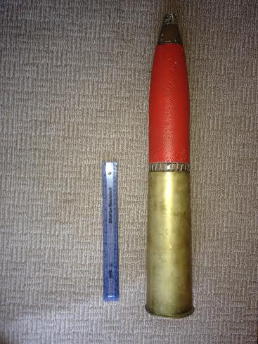 25LB MK2? Canadian Howitzer Shell?? safe?