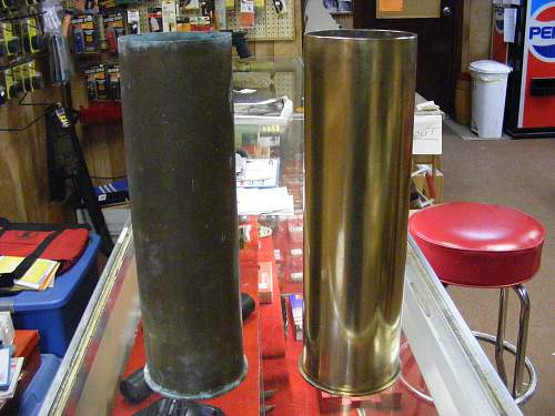 My 105mm Howitzer round project