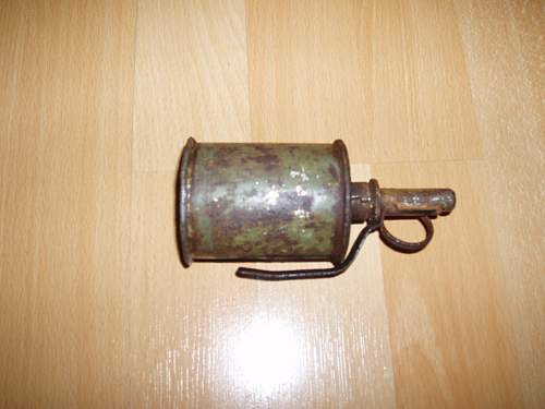 Russian ww2 RGD Grenade Finnish Winter War battlefield found