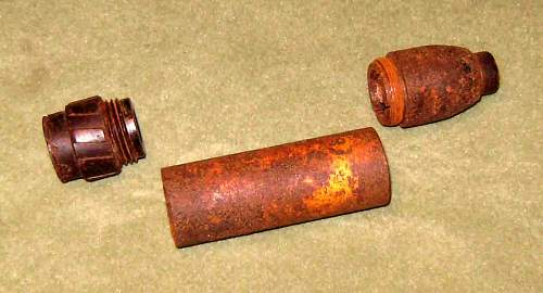 German rifle grenades and launchers