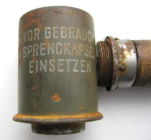 SS marked Stick Grenades
