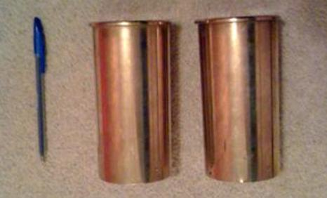 Two shell cases found
