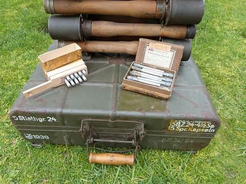 M24's and box