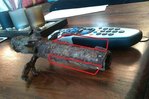 ww2 American riffle grenade launcher ??? help