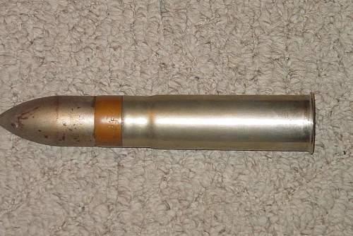 WW1 U.S. Navy 1 PNDR Cartridge..