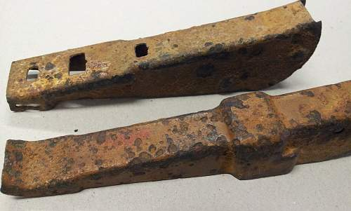Panzerfaust relic parts