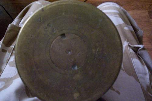 brass shell case