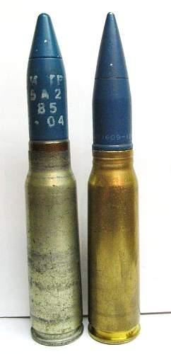 20x102mm Cartridges