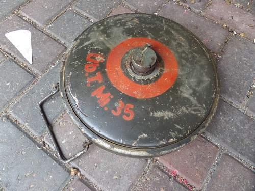 German Tm35 training mine