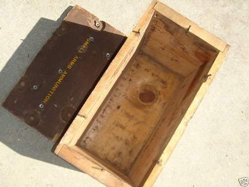 Interesting US WW2 50cal. Box