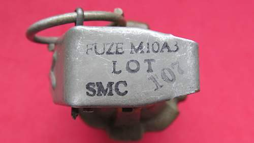 WW 11 US grenade value