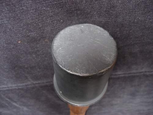 German Stick Grenade
