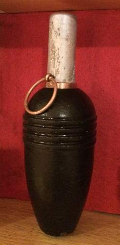 Finnish Improvised Grenade