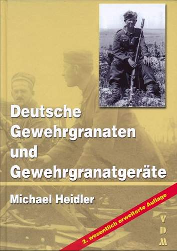 New book on German rifle grenades and launchers / Second edition finished