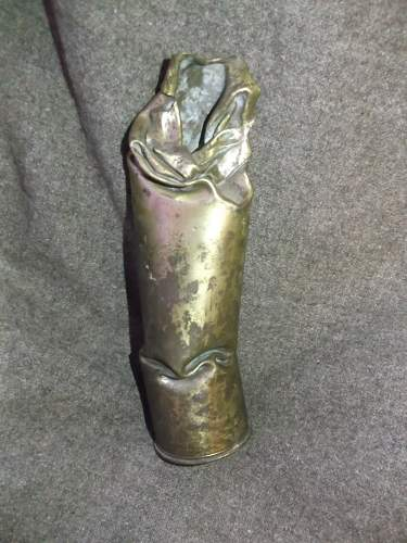 WW1 75mm Shell Case, Made in USA?