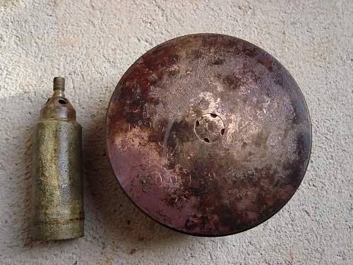 Help WW2 shell