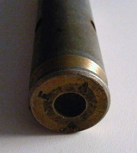 Unknown Deac Bullet Case