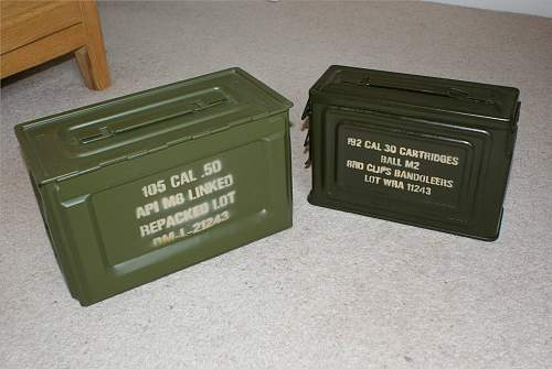 Click image for larger version.  Name:WW2 ammo tins.jpeg Views:3315 Size:194.9 KB ID:80740