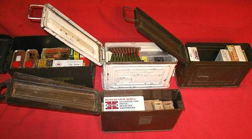 U.S. .30 cal. ammo can