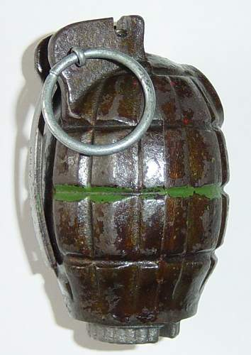 Click image for larger version.  Name:Mills No.36 Grenade..JPG Views:4998 Size:67.3 KB ID:8247