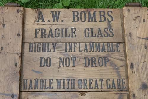 My A.W Bombs Display