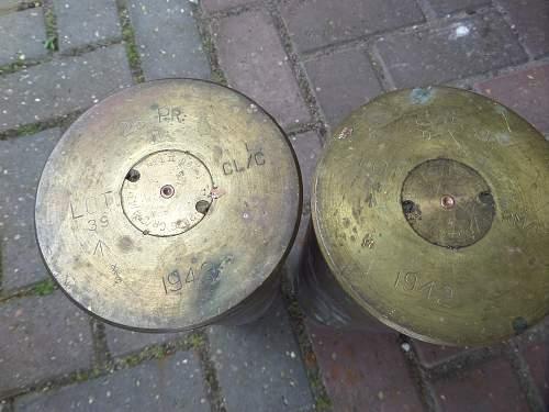 British shell pick ups