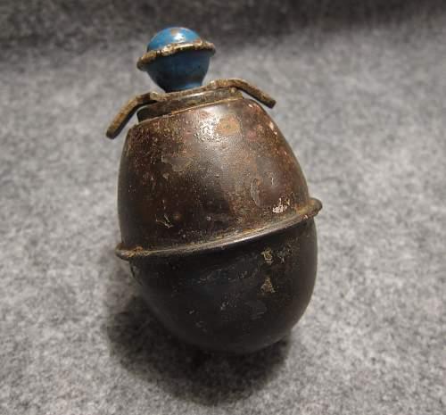 M39 egg grenade