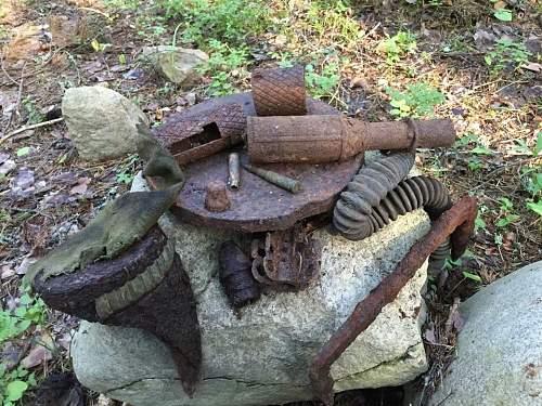 Treasures found on Winter War Battlegrounds