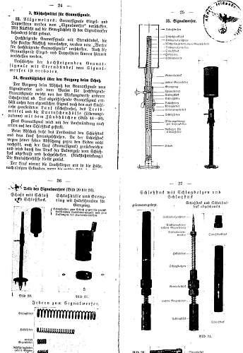 Unknown German Grenade/Flare? Projector