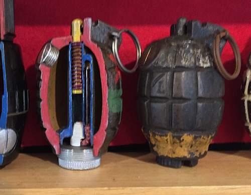 New grenades